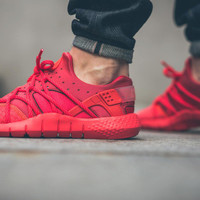 Red Inferno Nike Huaraches