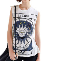 Printed Short Sleeve Graphic Tee