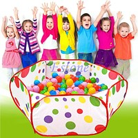 Kids Children Ocean Ball Pit Pool Game Play Toy Tent Baby Safe Playpen