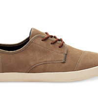 DESERT TAUPE SUEDE MEN'S PASEOS