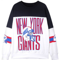 Sweatshirt - New York Giants - Sweaters & Cardigans - Women - Modekungen