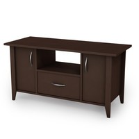 South Shore, Classic View Collection, TV Stand, Chocolate