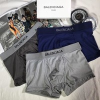 Balenciaga Fashion 3 Pairs of Men's Underwear Style #683