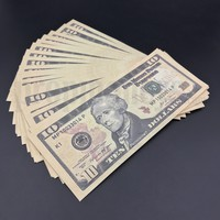 50x $10 Bills - $500 - New Style Prop Money