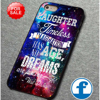 Walt Disney Quote Galaxy   for iphone, ipod, samsung galaxy, HTC and Nexus PHONE CASE