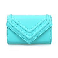 Aqua Cross Body Tara Envelope Purse