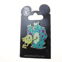 Disney Pin #48113: Disney/Pixar's Monsters, Inc. - Mike and Sulley
