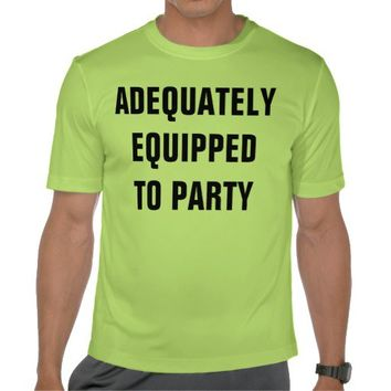equipped shirts from Zazzle.com
