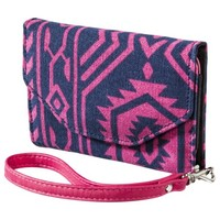Mossimo Supply Co. Geometric Fold Closure Wallet - Pink
