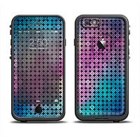 The Vibrant Colored Abstract Cells Apple iPhone 6 LifeProof Fre Case Skin Set