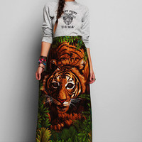 Urban Outfitters - Vintage '70s Tiger Print Skirt