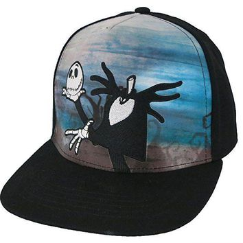 Disney Nightmare Before Christmas Adult Baseball Cap Hat