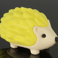 Yellow Hedgehog Eraser Series Two