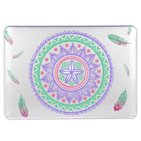Mandala Pattern Hard Case for Macbook 11 12 13 15 inches