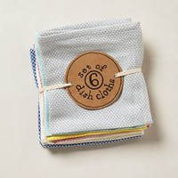 Waffle-Stitch Dishcloths  by Anthropologie in Multi Size: One Size Kitchen