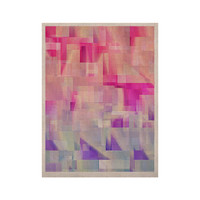 """Gabriela Fuente """"Winter Flow"""" Pink Purple KESS Naturals Canvas (Frame not Included)"""