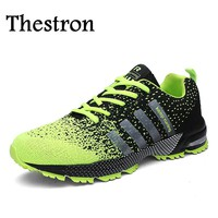 Thestron Big Size Running Shoes For Boys New Hot Men Shoes Sport Comfortable Men Athletic Shoes Cheap Men Running Sneakers