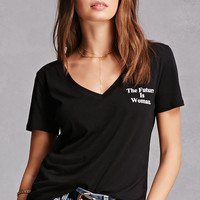 The Future Is Woman Graphic Tee