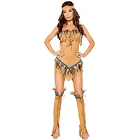 Into the West Girl's Native American Halloween Costume