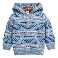 H&M Fine-knit Hooded Sweater $17.99