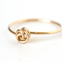 Love Knot Ring Gold