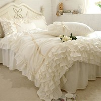 embroidery luxury bedding set