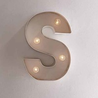 Modern Letter Marquee