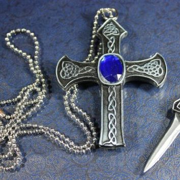 Super Knife Celtic Cross Necklace Hidden From Amazon Things I