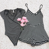 Lilo Striped Romper