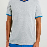 Three Coloured Ringer T-Shirt