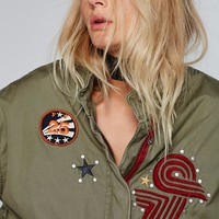 Free People Slouchy Grunge Jacket