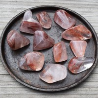 FIRE QUARTZ Return to Your True Self Stone, Heal Past Life Trauma