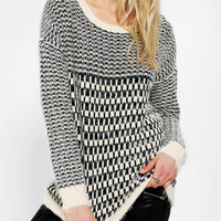 Urban Outfitters - byCORPUS Graphic Check Sweater