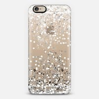silver confetti iPhone 6s case by Marianna | Casetify
