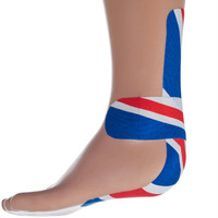 Remedy  Athletic Kinetic Kinesiology Tape - Red,White & Blue