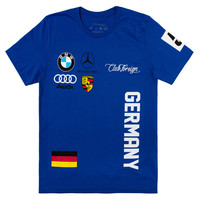 Club Foreign T-Shirt Germany Series in Blue