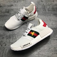 Adidas Gucci nmd BEE Trending Fashion Casual Sports Shoes-1