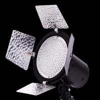 Portable LED Camera Video Light 168LEDs Camera Photography Lighting Battery Power SC168