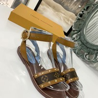 LV Women Casual Shoes Boots fashionable casual leather Women Heels Sandal