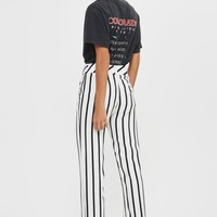 Humbug Stripe Slouch Trousers | Topshop