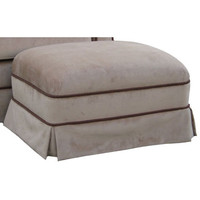 Angel Song 221020178 Classic Velvet Brown Adult Club Stationary Ottoman