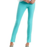 Mint High-Waisted Skinny Pants by Charlotte Russe
