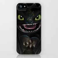 Night Fury iPhone & iPod Case by Emiliano Morciano (Ateyo)