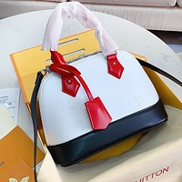 Louis Vuitton LV New Women Shopping Bag Leather Multicolor Handbag Tote Shoulder Bag Crossbody Satchel