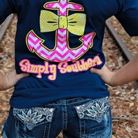 Bow and Anchor Tee