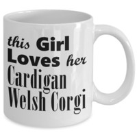 Cardigan Welsh Corgi - 11oz Mug
