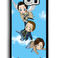Supernatural Funny Quotes Fan Art for Samsung Galaxy S6 Hard Cover Plastic