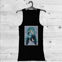 Hatsune Miku Sexy Custom Tank Top | Men Tank Top | Woman Tank Top | T-shirt | Shirts