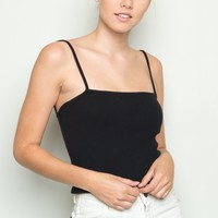 Faye Thermal Tank - Tops - Clothing