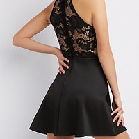 Skater Dresses: Fit and Flare Dresses, Lace & More | Charlotte Russe